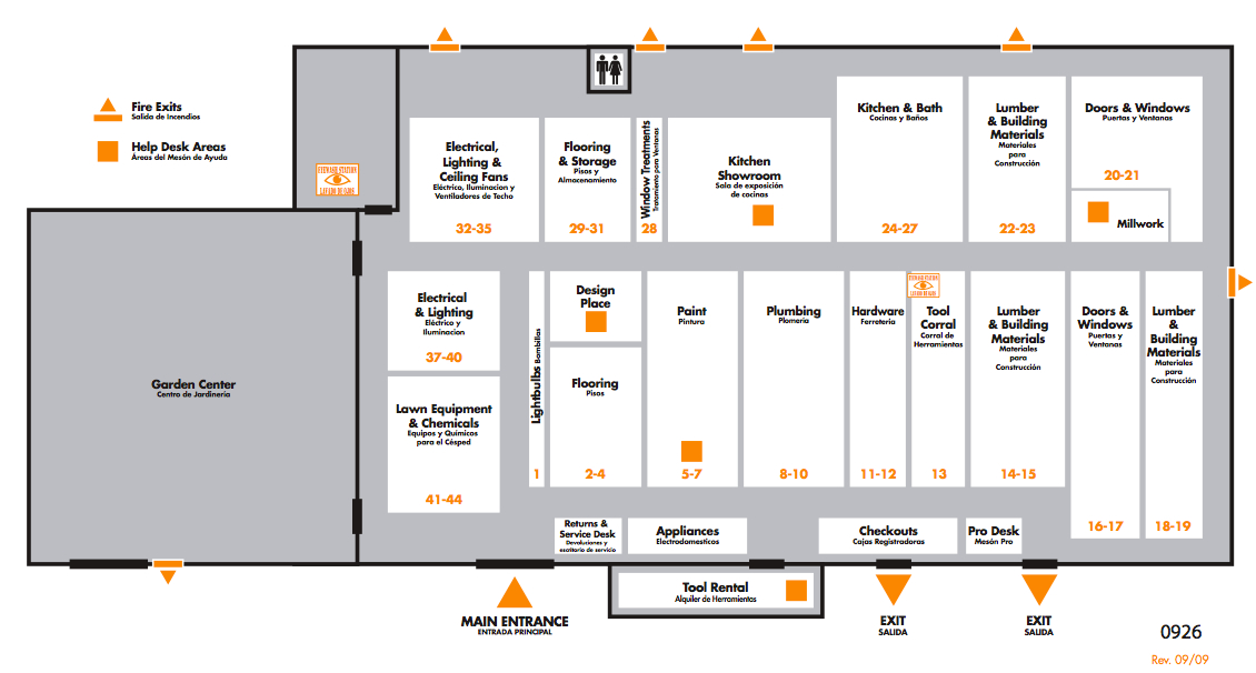 Home Depot Store Layout 28 Images Using The Home Depot