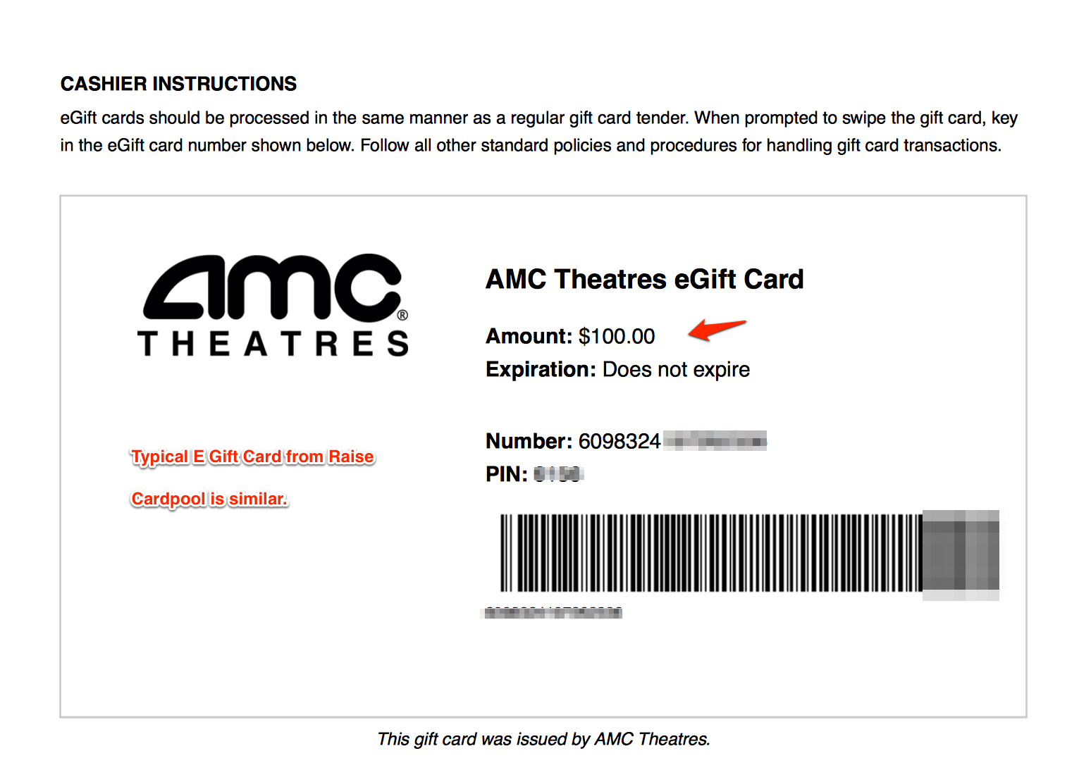 Amc Gift Card Check Balance - Gift Card Ideas
